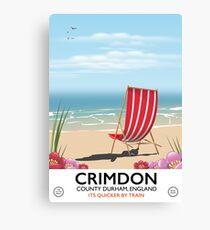 Crimdon ,County Durham, England  Canvas Print