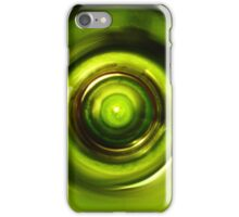 Green Wine Vortex  iPhone Case/Skin