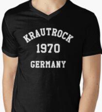 Rock T shirt - Krautrock 1970 Germany Tee Men's V-Neck T-Shirt