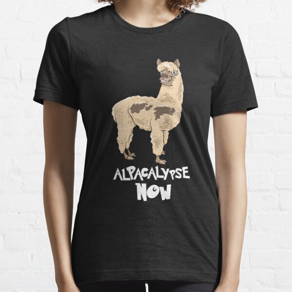 Llama Top Funny Farm Animal Gift Present Alpaca Unisex No Prob Llama TShirt