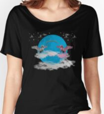 They come together on a Blue Moon Women's Relaxed Fit T-Shirt
