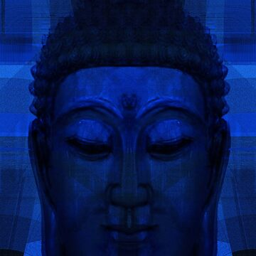 Blue Buddha by Rosh