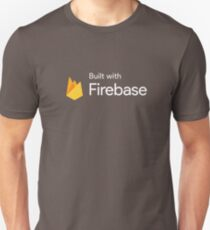 Built with Firebase (Blue) Unisex T-Shirt