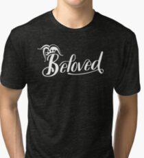 Beloved (White) Tri-blend T-Shirt