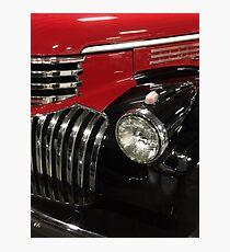 Classic 1946 Chevrolet Pickup Truck profile Photographic Print