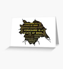 Mighty Boosh - Yorkshire Is A State Of Mind Greeting Card