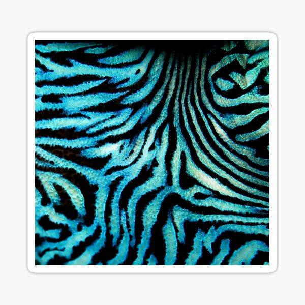 Tribal Blue I Sticker