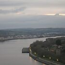 The Tyne at Dusk by pat oubridge