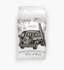 Funda nórdica Happy Hippie Surfer Design