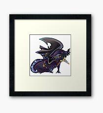 Axolotl Rogue Framed Print