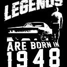 Legends Are Born In 1948 by wantneedlove