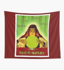 PSYCHIC READINGS: Gypsy Fortune Teller Print Wall Tapestry