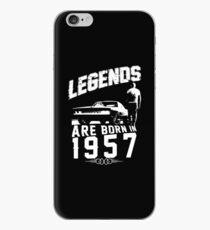 Legends Are Born In 1957 iPhone Case