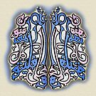 Alallahi Falyatawakkalil Muminun Calligraphy Painting by HAMID IQBAL KHAN