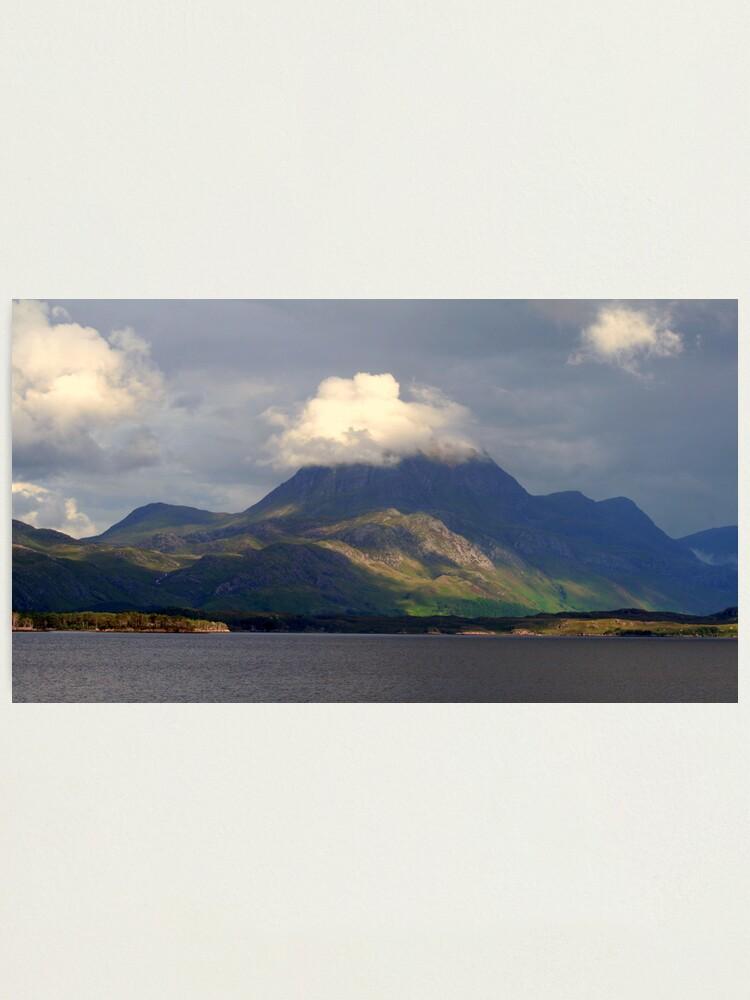 Alternate view of Slioch Loch Maree Photographic Print