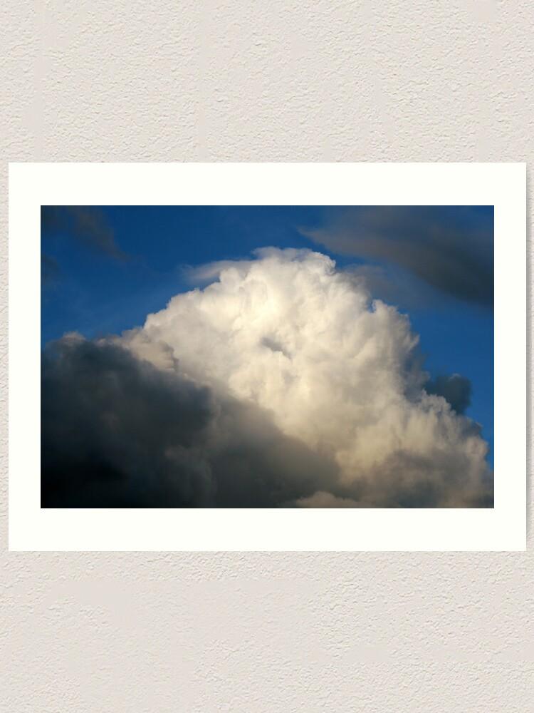 Alternate view of Cloud Art Print