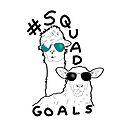 Alpaca Sheep Squad Goals by GamerCrafting