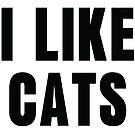 I Like Cats by catloversaus