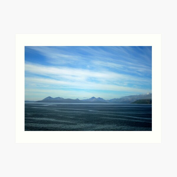 Fearnmore to Armadale Art Print