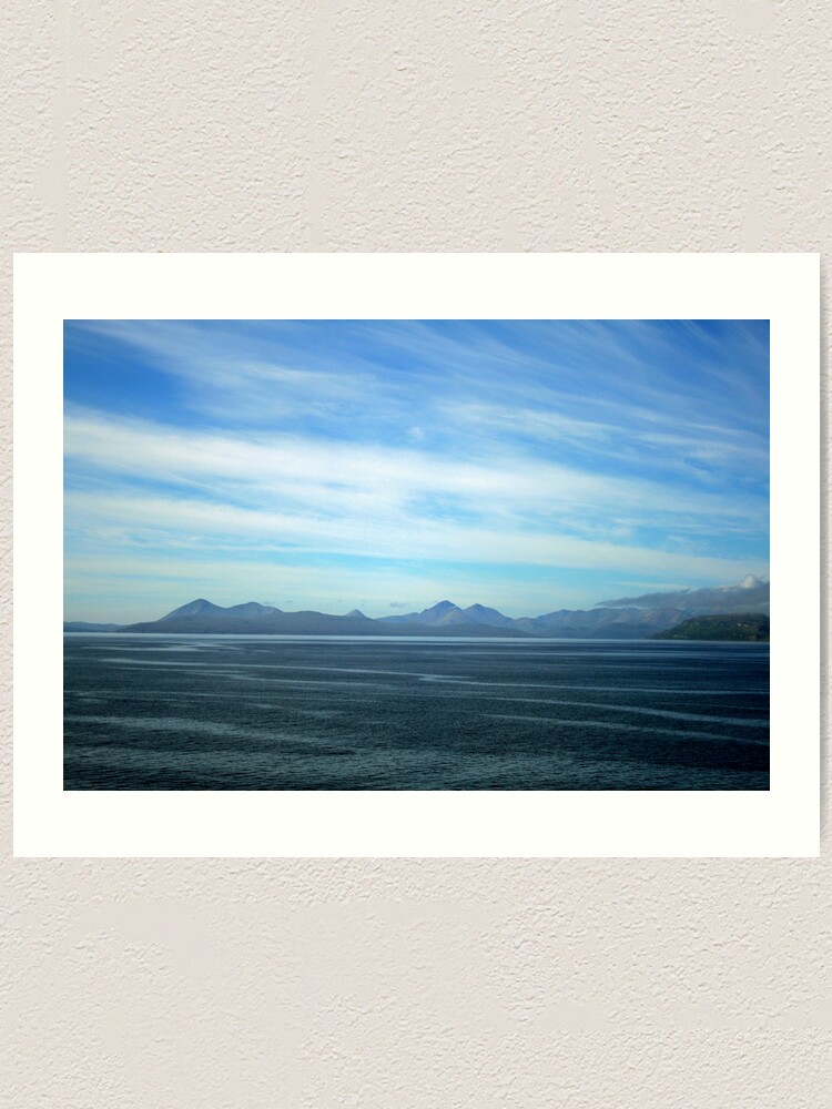 Alternate view of Fearnmore to Armadale Art Print