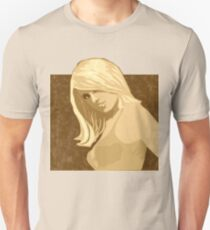 sexy hot girl Pin up Model - blonde woman nude Unisex T-Shirt