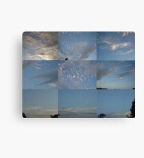 Sky Quilt Canvas Print