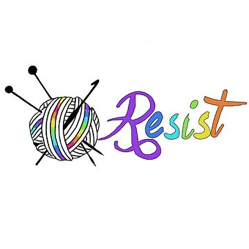 Resist Yarn Knit Crochet by GamerCrafting