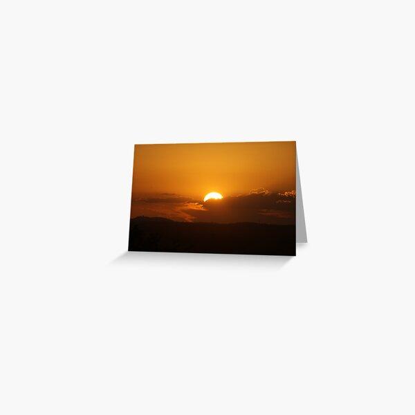 Sunset 5 Greeting Card