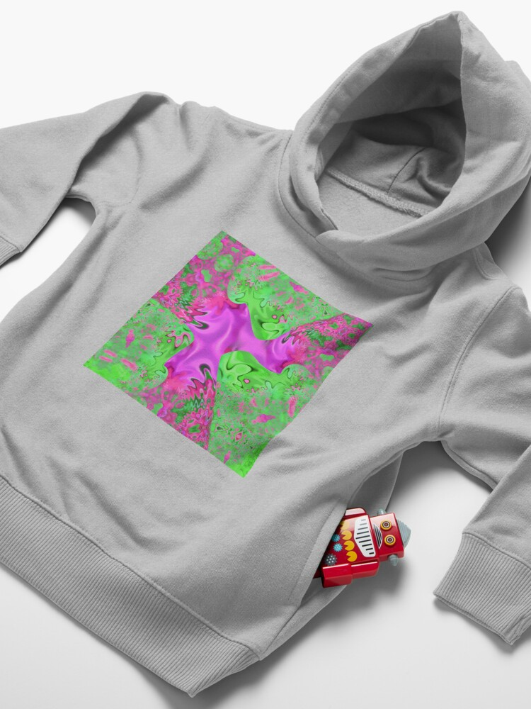 Alternate view of When? Toddler Pullover Hoodie