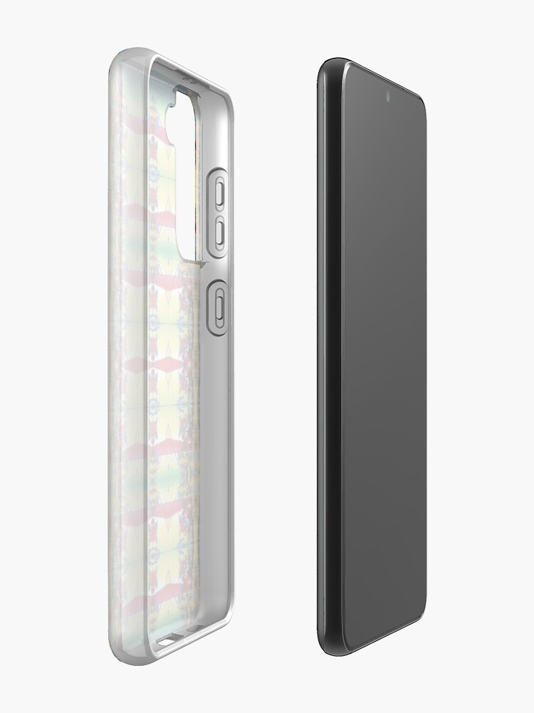 Alternate view of Pattern, design, tracery, weave, drawing, figure, picture, hallucination Samsung Galaxy Phone Case
