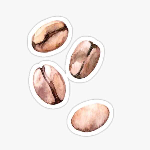 Kaffeebohne Sticker