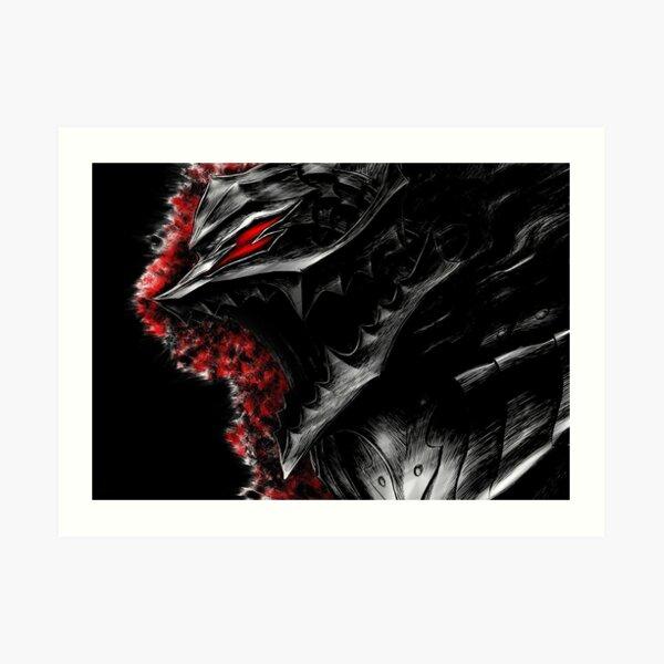 Berserk Demon Armor Art Print