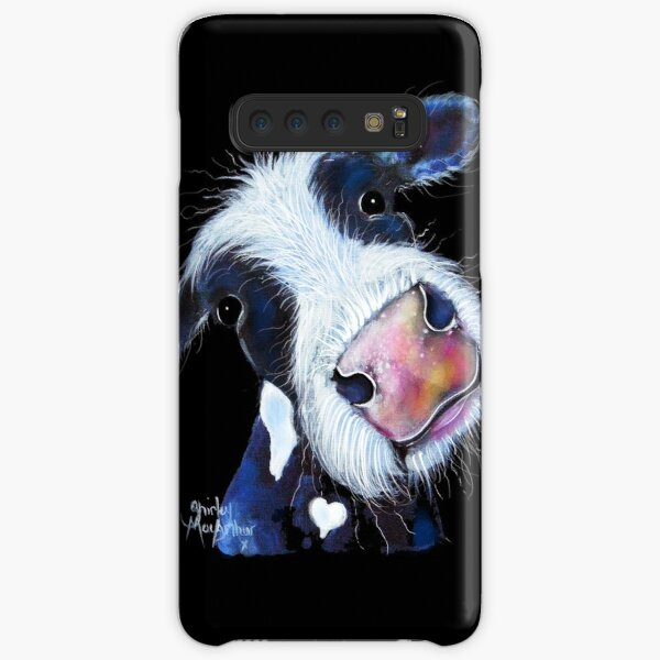 COW PRiNT  ' NoSeY BERTHA BEETROOT ' BY SHiRLeY MacARTHuR Samsung Galaxy Snap Case