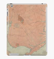 Vintage Map of Brooklyn NY (1902) iPad Case/Skin