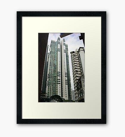 Goldwin Heights Framed Print