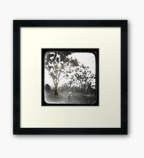 Yesterday is History Framed Print