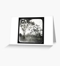 Yesterday is History Greeting Card
