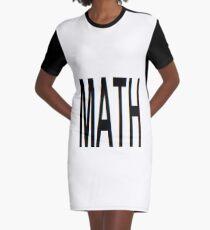 Math, Mathematics, education, science, pattern, design, tracery, weave Graphic T-Shirt Dress