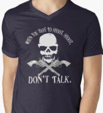 Shoot Dont Talk T-Shirt