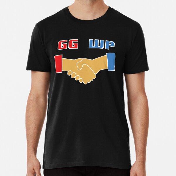 Good Game Well Played Handshake Gamer T-Shirt Design Premium T-Shirt