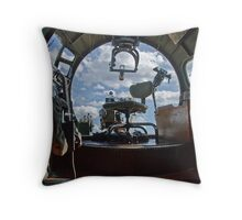 bombardiers quarters Throw Pillow