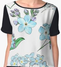 A collection of Forget Me Nots Chiffon Top