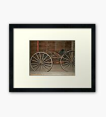 Welch Buggy Framed Print