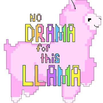 Drama Llama by PinkPocky97