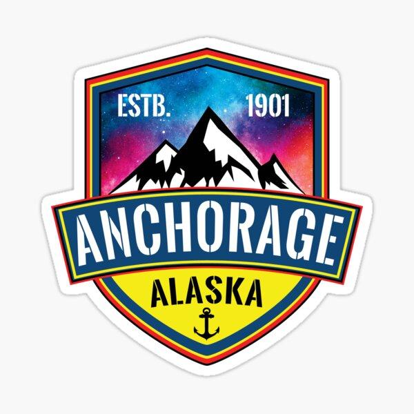 Anchorage Alaska Sticker