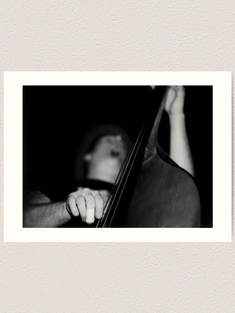 Alternate view of Bass Man Art Print