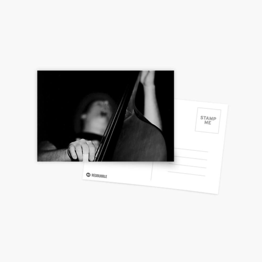 Bass Man Postcard