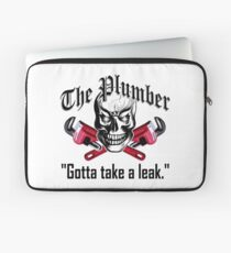 Plumber Skull 3.1: Gotta Take a Leak Laptop Sleeve