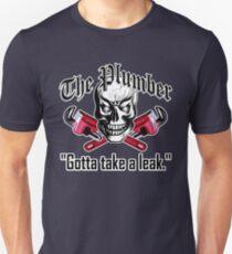 Plumber Skull 3.1: Gotta Take a Leak Unisex T-Shirt