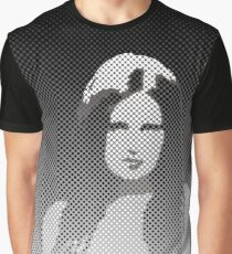 Hot sexy Pin-up girl drawing black & wihte Graphic T-Shirt